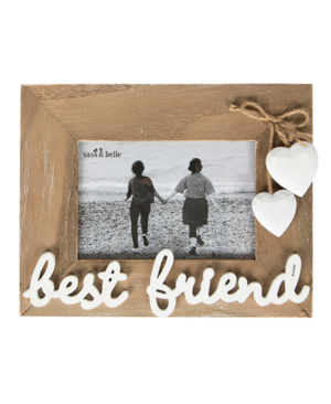 BEST FRIEND PHOTO WOODEN FRAME