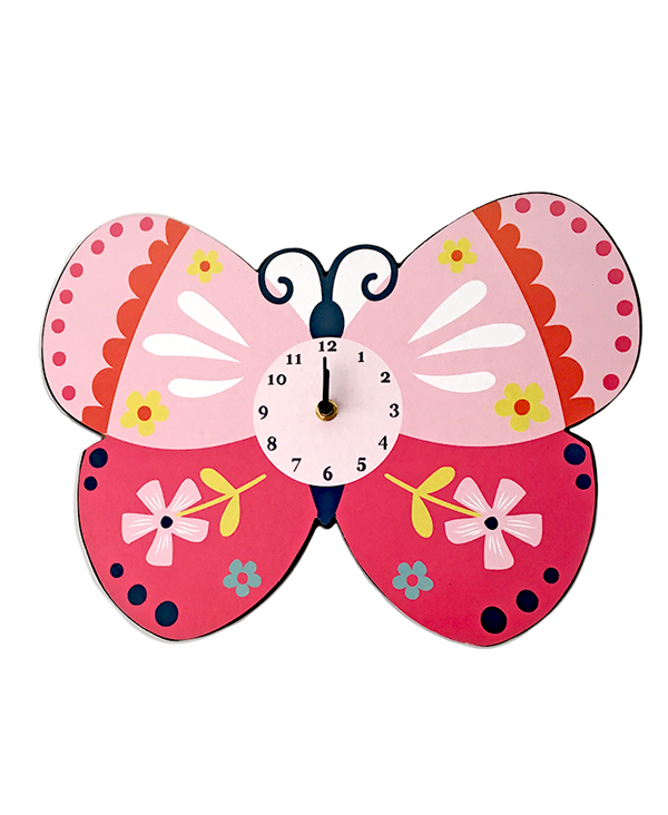Butterfly Wall Clock