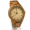 Men's Zebrawood Quartz Watch
