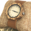 Ladies Octagonal Bamboo Watch