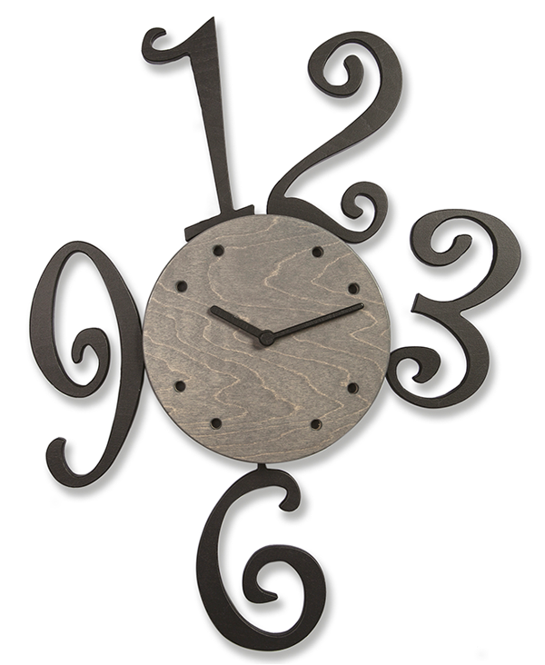 NUMBER PENDULUM CLOCK_1