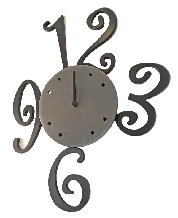 NUMBER PENDULUM CLOCK_2
