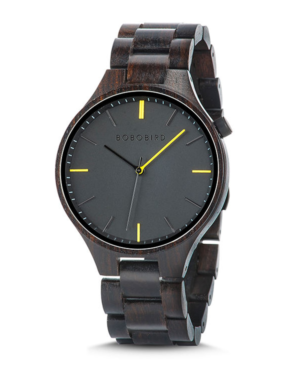 Men's Ebony Wooden Watch
