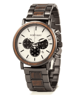 Men's Luxury Multifunction Wooden Watch