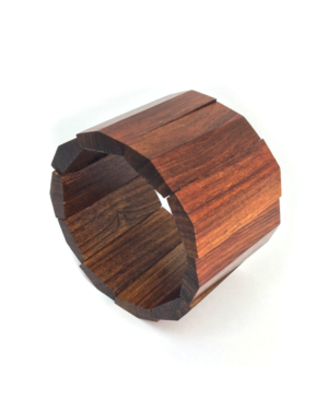 Indian Rosewood Stretch Bracelet