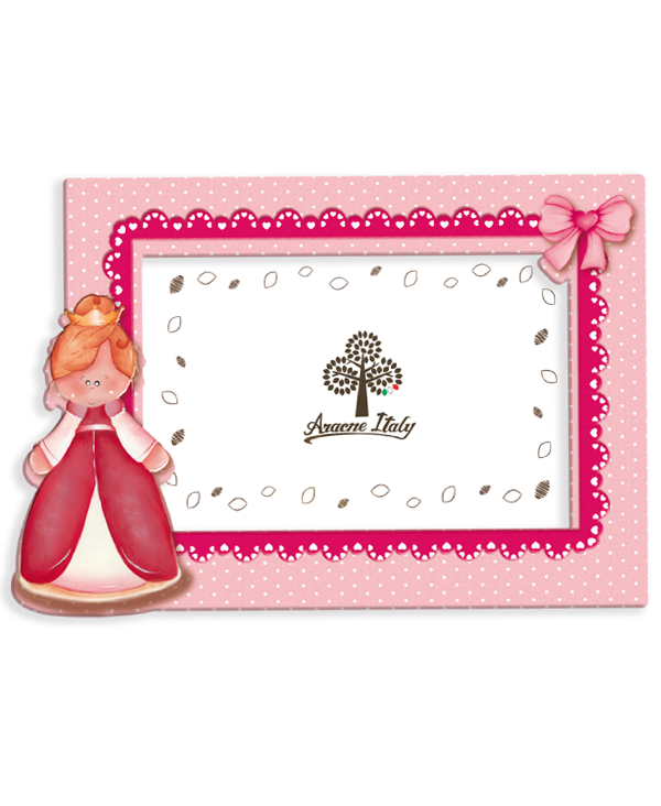 Princess Photo Frame - Portrait - Crazy About Wood